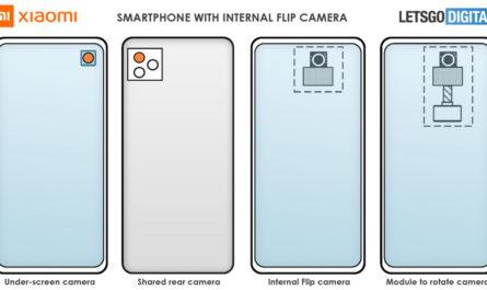Xiaomi запатентовала вращающуюся внутри смартфона камеру