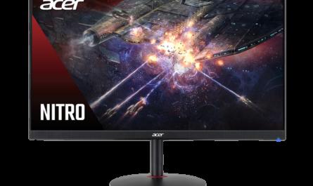 Acer привезла в Россию игровой монитор Nitro XV252QF с экраном 390 Гц