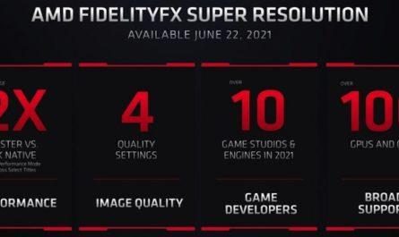 AMD FidelityFX: альтернатива DLSS, которая работает даже с NVIDIA GTX