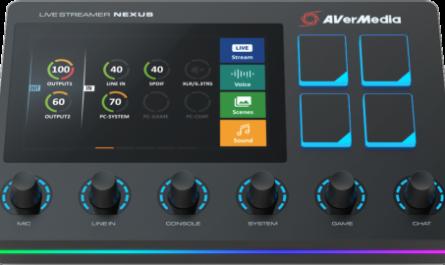 AVerMedia Live Streamer Nexus: полный контроль над звуком