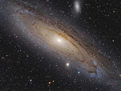 Более 100 миллионов звёзд галактики Андромеды в одном видео