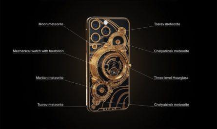 Caviar выпустит iPhone 13 Pro с кусочками метеоритов за 899 000 рублей