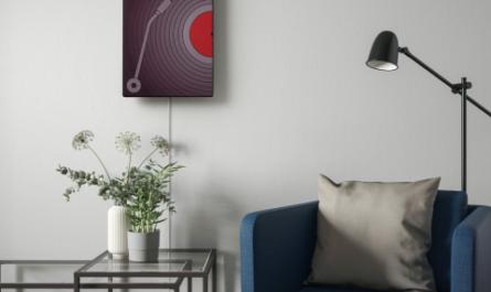 IKEA выпустила дизайнерскую колонку в форме картины