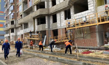 Для освобождения стройплощадки проблемного ЖК «Царицыно» от строительного мусора заключено пять договоров