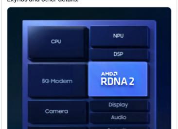 Инсайдер назвал дату выпуска процессора Samsung с графикой AMD
