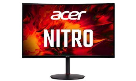Изогнутый монитор Acer Nitro XZ270UP для геймеров уже доступен в России