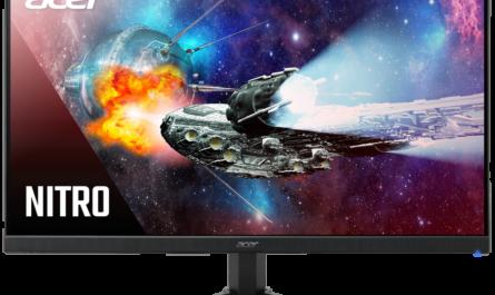 Новый монитор Acer Nitro QG241YP: 165 Гц и защита зрения