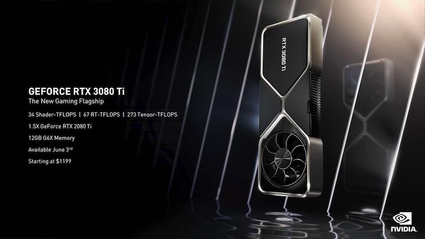 NVIDIA GeForce RTX 3080 Ti: новый игровой флагман за 116 900 рублей