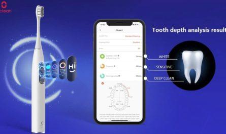 Oclean X Pro Elite: умная и тихая зубная щётка с автономностью 35 дней