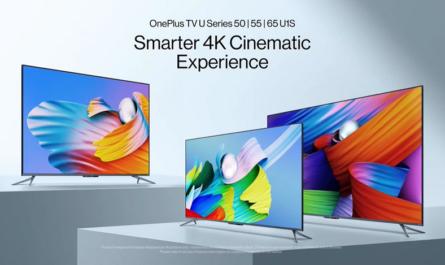 OnePlus TV U1S с 4K-экраном и Android TV по цене от $548