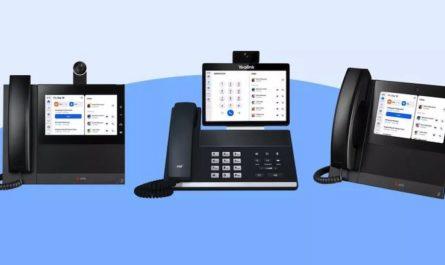 Представлены стационарные телефоны с мессенджером Zoom и веб-камерой