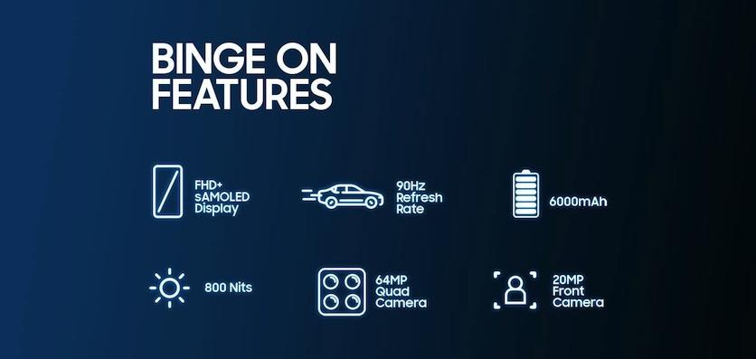 Samsung назвала дату презентации нового Galaxy M32 с ёмким аккумулятором