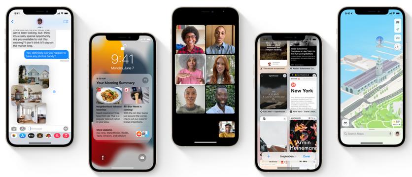 Список iPhone и iPad, которые получат iOS 15 и iPadOS 15