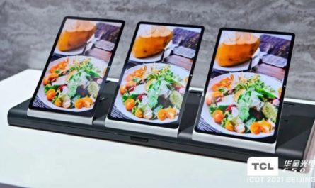 TCL показала передовой LTPS-экран для Xiaomi Mi Pad 5