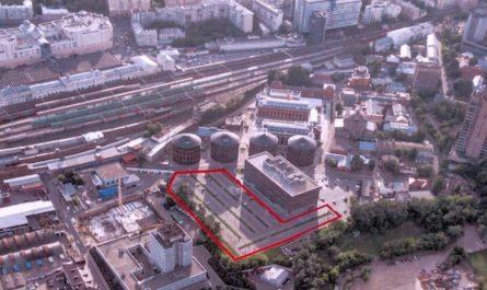 На бывшей территории Московского газового завода планируется построить бизнес-центр