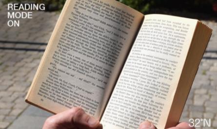 Умные очки переключаются между режимами чтения и защиты от Солнца