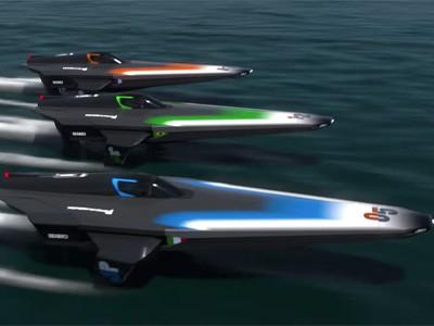 В рамках «Формулы-Е» пройдут соревнования на «летающих» лодках