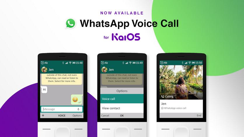 WhatsApp теперь поддерживает голосовые звонки на бабушкофонах