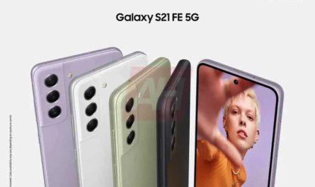 Дизайн и все расцветки Samsung Galaxy S21 FE показали на пресс-рендере