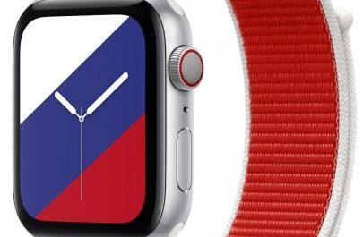 Для Apple Watch выпустили оригинальный ремешок с российским флагом