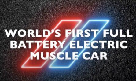 Dodge анонсировала первый электрический Muscle car