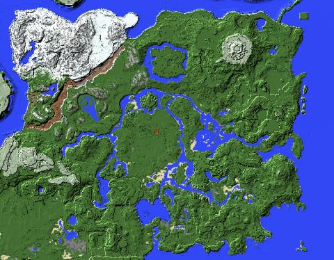 Фанат воссоздал карту The Legend of Zelda: BotW в мире Minecraft