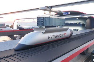 HyperPort доставит грузы между городами за считаные минуты [ВИДЕО]