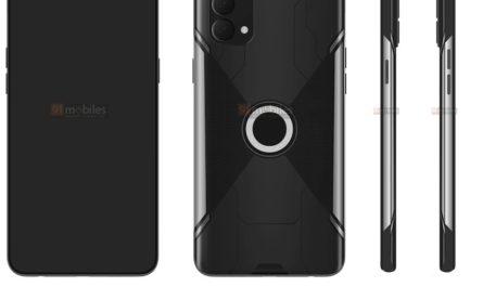 Игровой смартфон OPPO с агрессивным дизайном на патентных изображениях