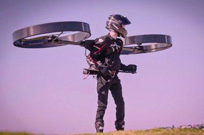 Интернет-сыщики разоблачили создателей летающего рюкзака CopterPack