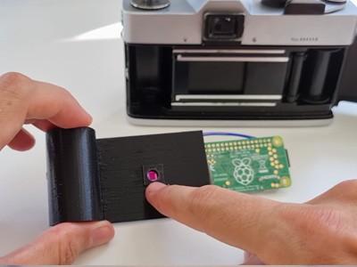 Из Raspberry Pi сделали вечную плёнку для ретрокамер [ВИДЕО]