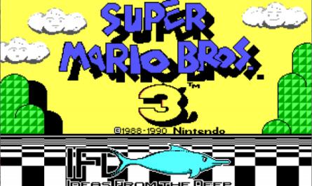 Найдена дискета с ПК-версией Super Mario Bros. 3 от авторов DOOM