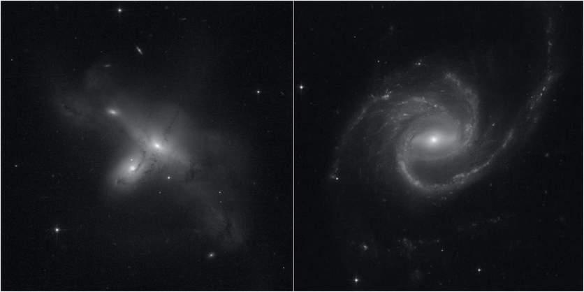 Первые фотографии вернувшегося к работе телескопа «Хаббл»