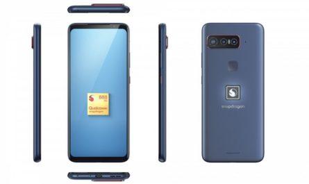 Qualcomm выпустила эталонный смартфон на Snapdragon 888 за $1500