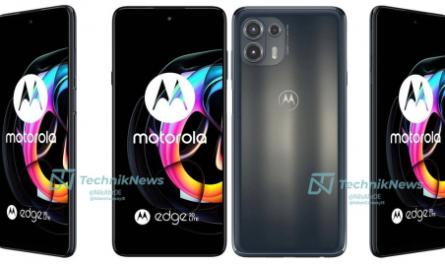 Раскрыты дизайн и цвета всех смартфонов серии Motorola Edge 20