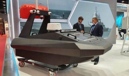 Российские инженеры создали непотопляемый беспилотный катер