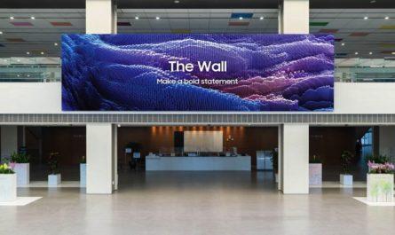 Samsung The Wall 2021: модульный ТВ с поддержкой 8K