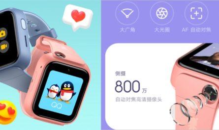 Смарт-часы Xiaomi MITU Watch 5X: две камеры и защита от воды за $89