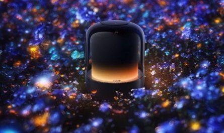Смарт-колонка HUAWEI Sound X 2021 в «ламповом» дизайне работает на HarmonyOS