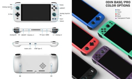 AYN Odin — конкурент Nintendo Switch на Android и ценой в $200