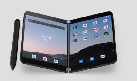 Дизайн Microsoft Surface Duo 2 показали со всех сторон