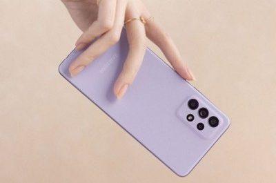 Дизайн Samsung Galaxy A52s 5G показали на пресс-рендерах