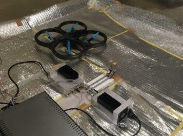 Дрон подняли в воздух с помощью микроволн