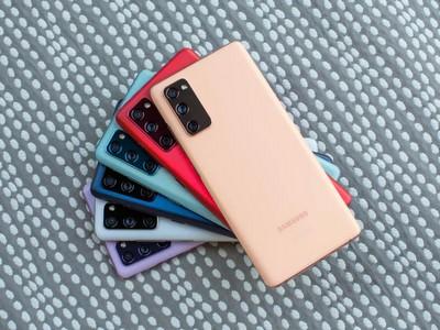 Фирменные обои Samsung Galaxy S21 FE уже доступны для загрузки