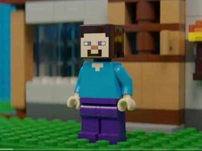 Геймер объединил LEGO и Minecraft в одну игру [ВИДЕО]