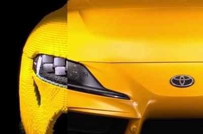 Из LEGO собрали рабочую копию спорткара Toyota GR Supra