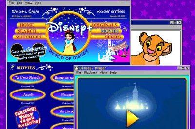 Энтузиасты «перевели» популярные сайты на дизайн 90-х