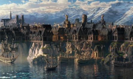 Энтузиасты возвели в Minecraft огромный портовый город