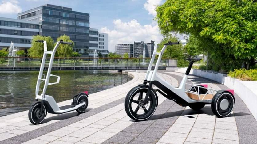 Концепт электрических самоката и велосипеда BMW [ФОТО]