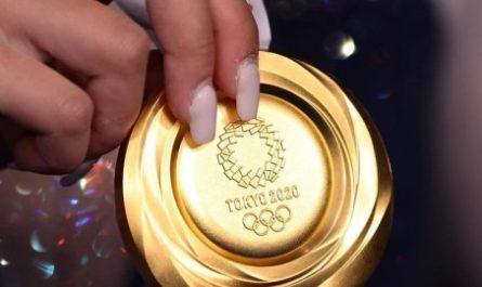 Олимпийские медали из смартфонов оказались низкого качества