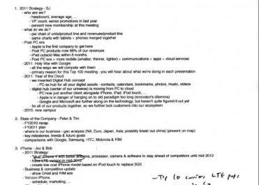 Отменённый iPhone Nano засветился в письме Стива Джобса